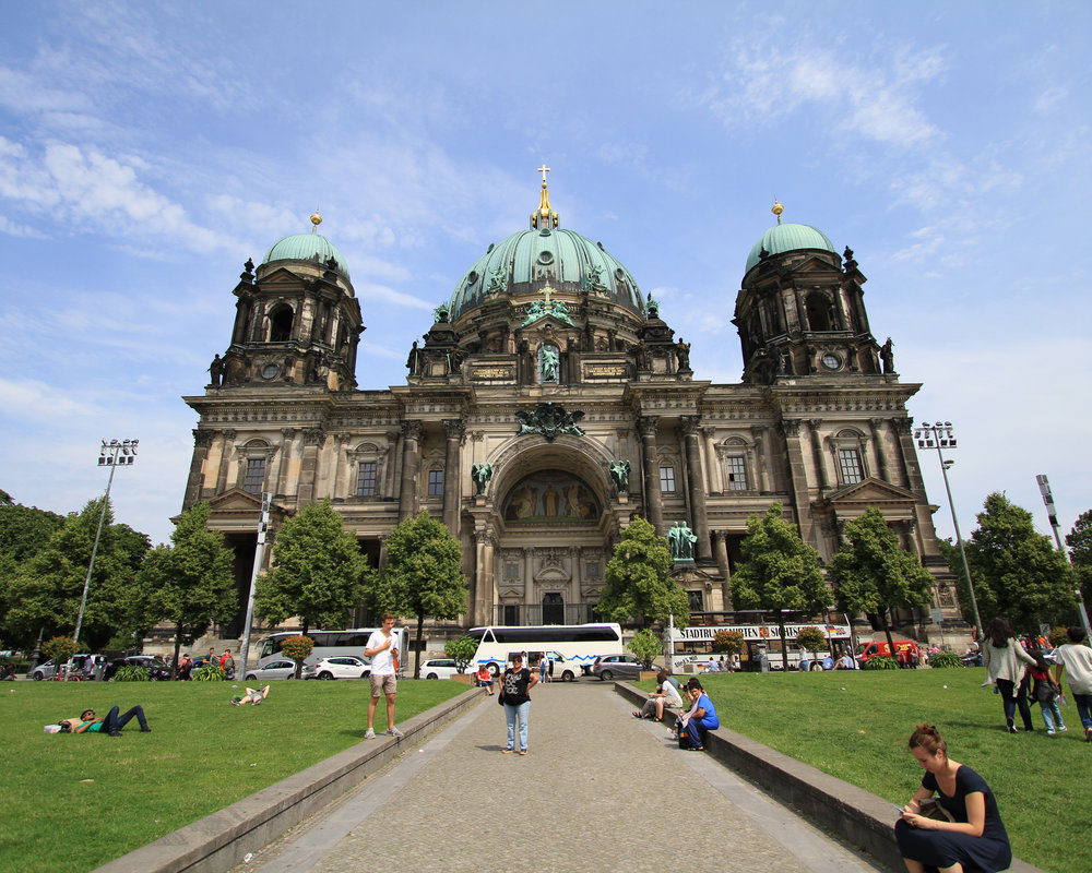 Berliner Dom Before