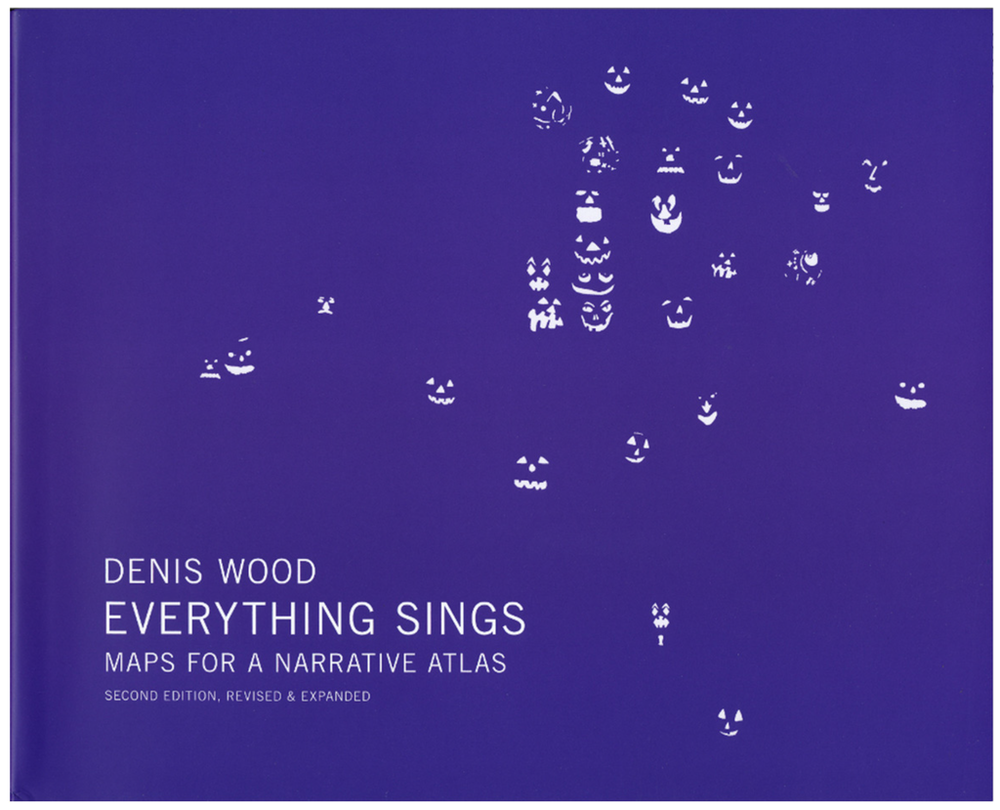 The Cover of 'Everything Sings' - The second edition of the narrative atlas published by Wood, contaning 67 maps of the neighborhood