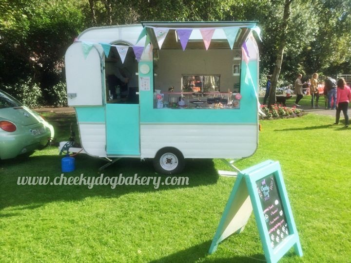 CHEEKY DOG BAKERY   A fabulous range of luxury, handmade treats and cakes, herbal dog teas and lots of love from Jenny & Oscar in their cute mobile shop.