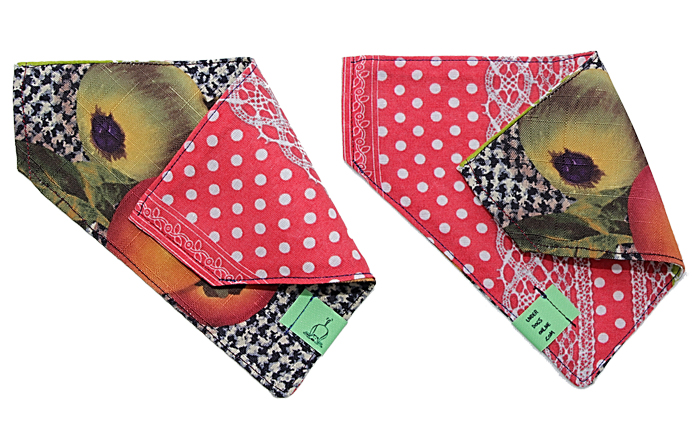 UNDERDOGSONLINE   is a brand new business making beautiful, reversible bandanas from funky up-cycled fabrics - each one unique just like our canine friends!