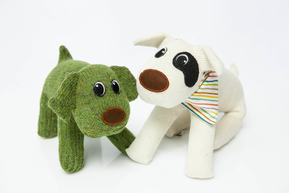 RED RUFUS   Spreading joy one SockDog at a time! A member of the Design and Craft Council of Ireland Red Rufus' soft friends bring comfort and joy with style. Hardwearing, ethically made and totally loveable they are suitable for dog mad people and gentle doggos.