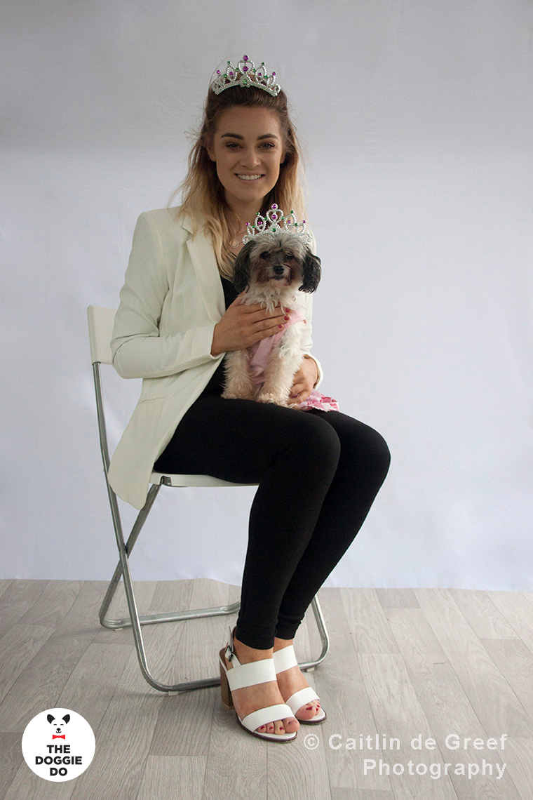 Laura Parke and her wuff Roxie - winners of last year's competition. Photographed by  Caitlin de Greef