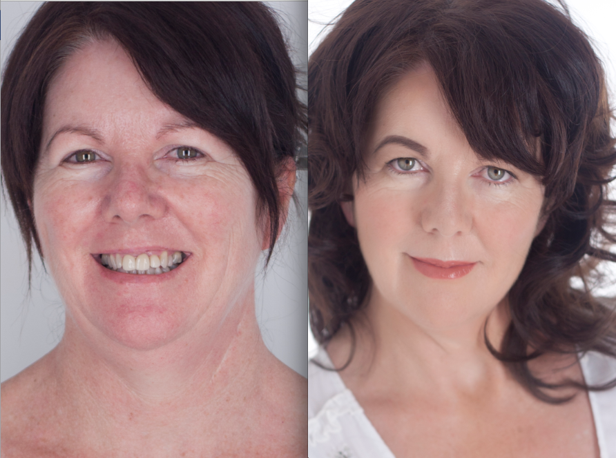 perth makeup artist before after jellis beauty mature