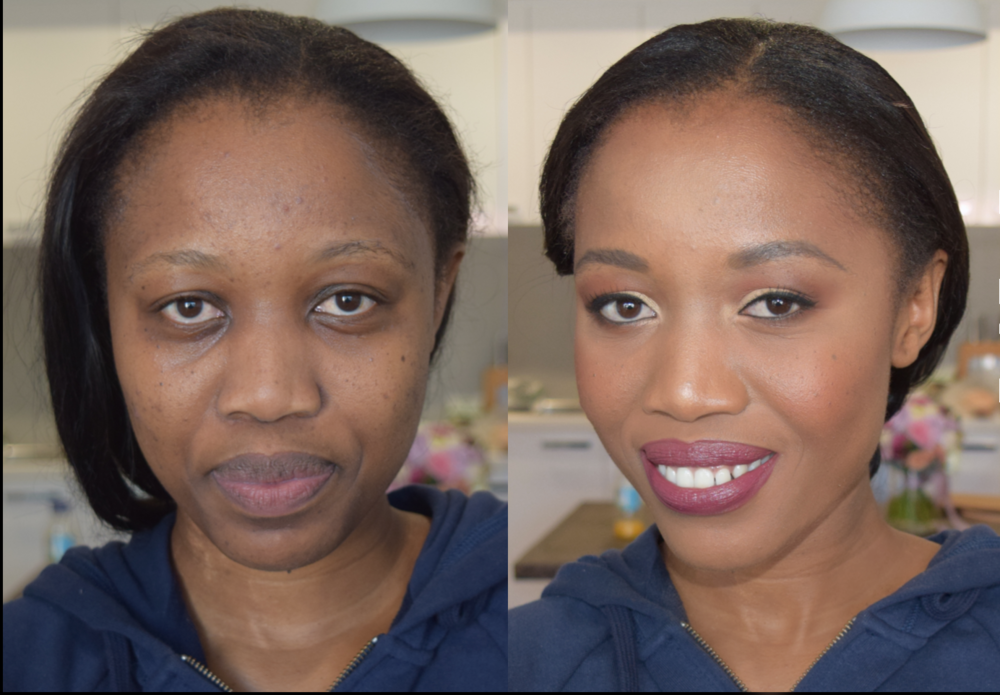 before after bride dark skin melanin.png