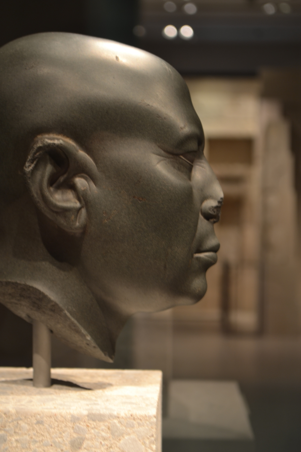 'Green Head', Neues Museum