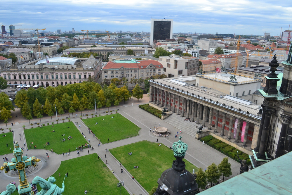 View from the Panoramic Gallery Berliner Dom