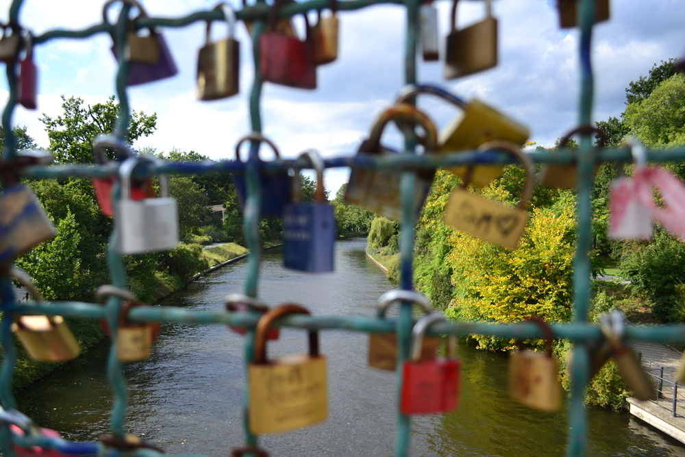 Padlocked Bridge, Tiergarten