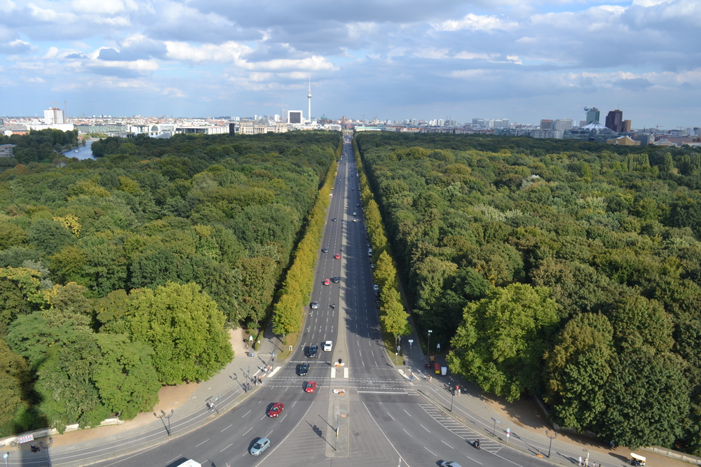 View from Victory Column