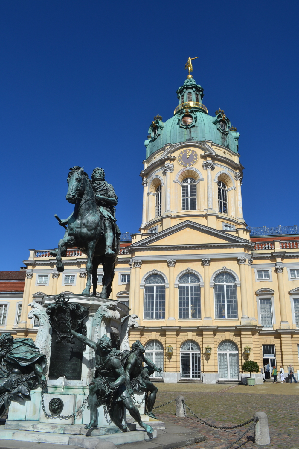 Courtyard, Schloss Charlottenburg