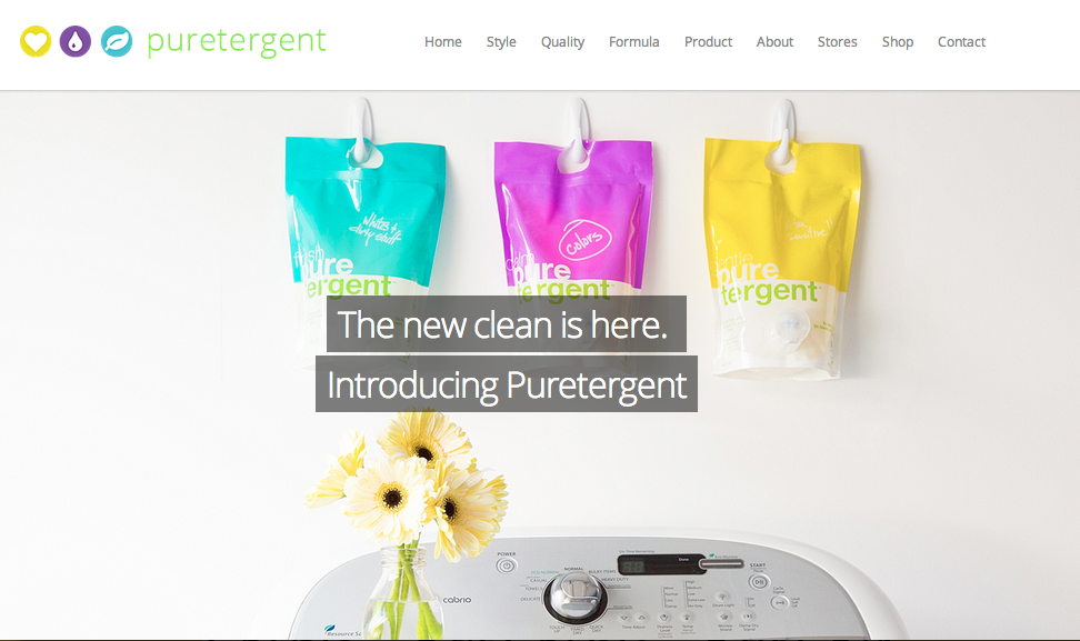 CPG Start-Up: Puretergent