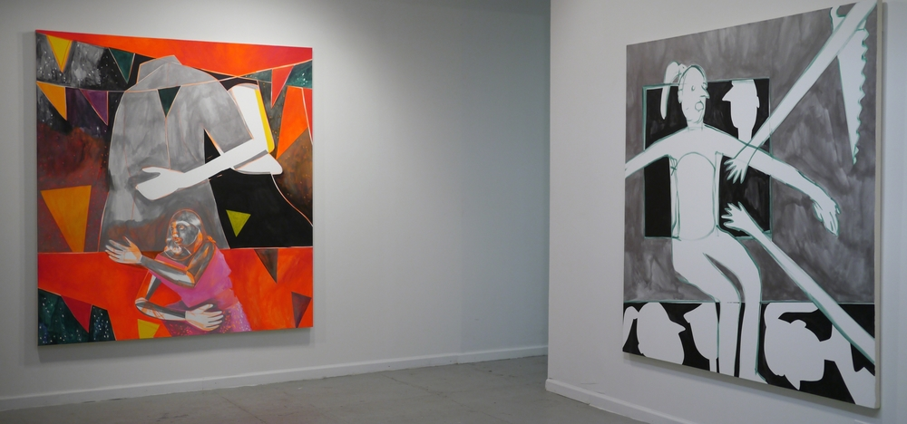 Solo Exhibition at  106 Green Gallery ,  JAQUELINE CEDAR , 2015