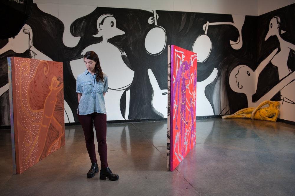 MIRROR MIRROR   // Solo Exhibition  at Herron School of Art + Design's Marsh Gallery, Indianapolis IN // June 14 - September 2, 2017