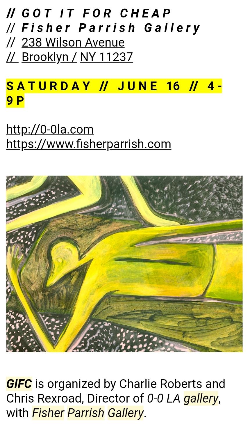 GIFC    JUNE 2018   Fisher Parrish Gallery     https://www.fisherparrish.com/