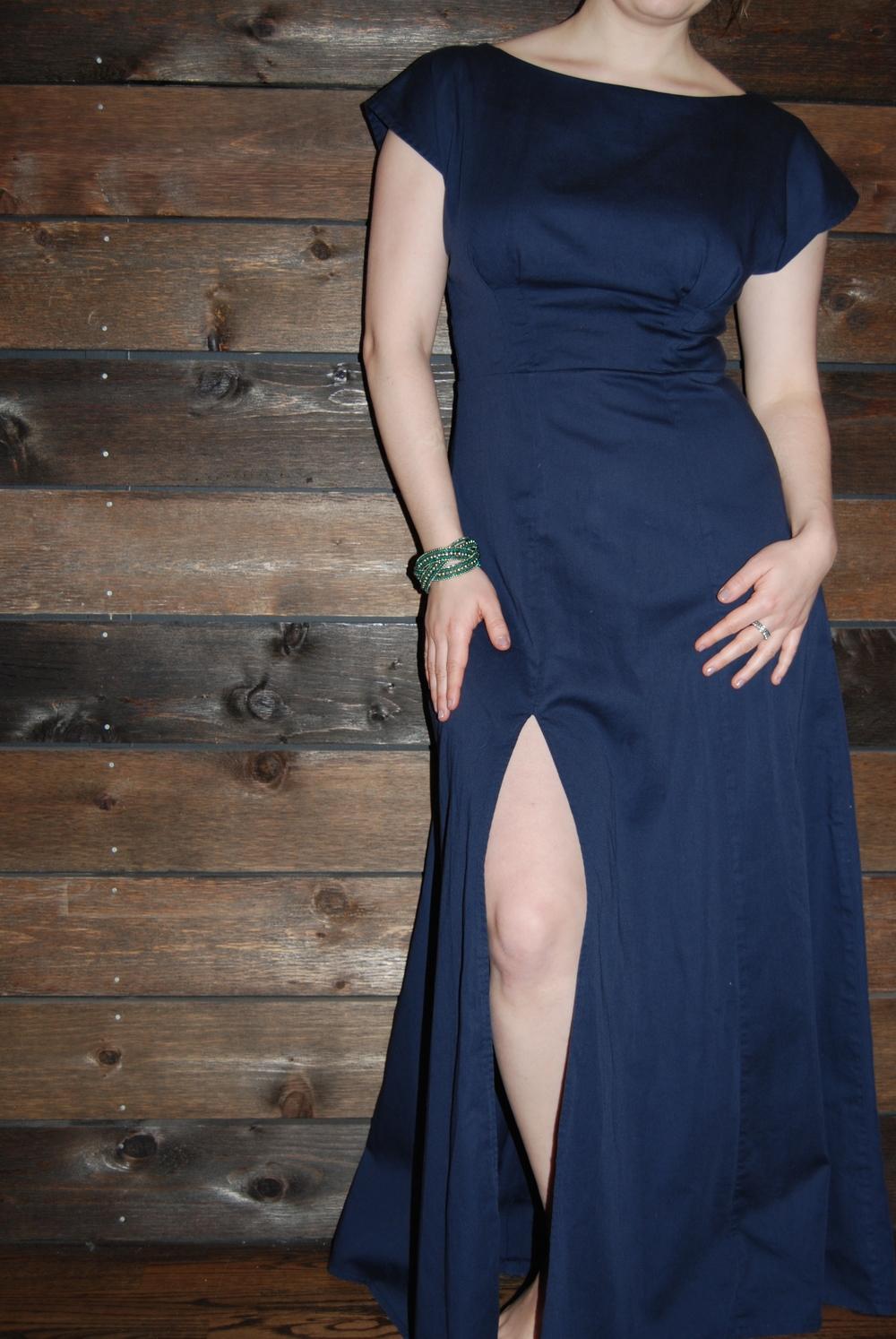 Navy blue Anna dress