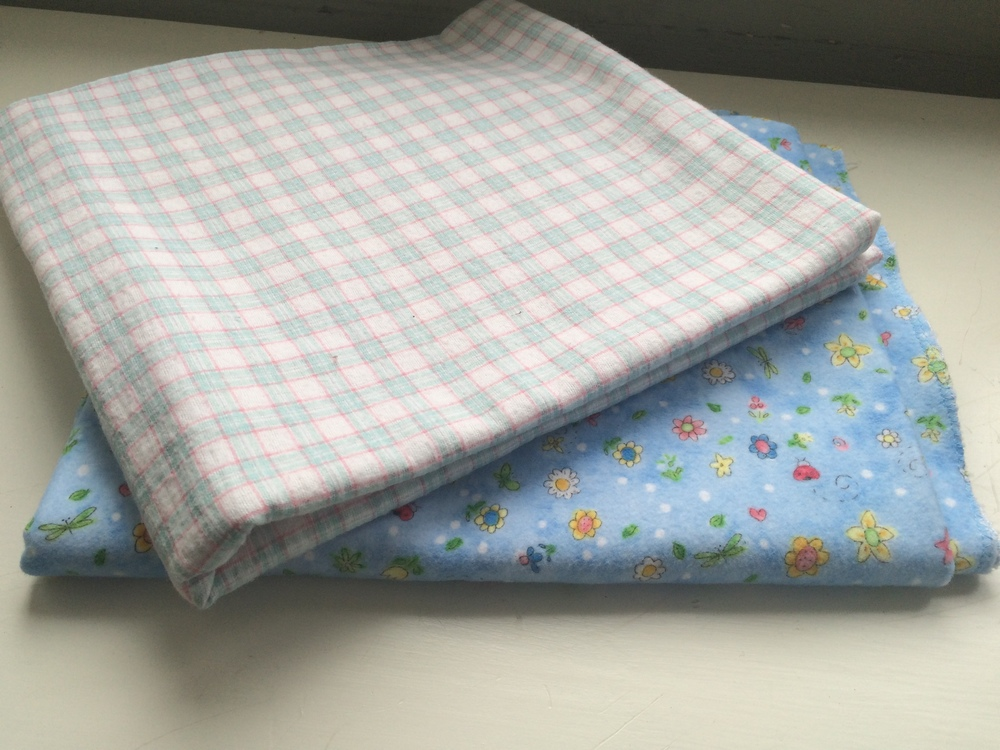 DIY Baby Receiving Blanket