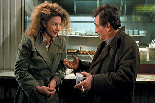 I could ruminate on Peter Falk in this movie, but the simplest version is this: the moment you know that Wings of Desire is a stone-cold masterpiece is when Peter Falk appears on the screen. [If you want the truth: What is Peter Falk Doing in Wings of Desire?]