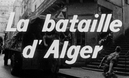 matthewgallaway :      archnoble :     (via  dvdbeaver )    The Battle of Algiers  (1965)     If you've never seen  this movie , it's a revelation (albeit a depressing one, given the current state of the world); without really 'choosing sides' the filmmakers basically show all sides in what's effectively a 'war on terror' as we understand it today, complete with (Islamic) suicide bombers (some of them women, all of them desperate for reasons that are and are not completely understandable) and occupied forces who are by turns arrogant, well-intentioned and corrupt.      This film is also a big inspiration for Your Future Best Picture Winner on March 7: