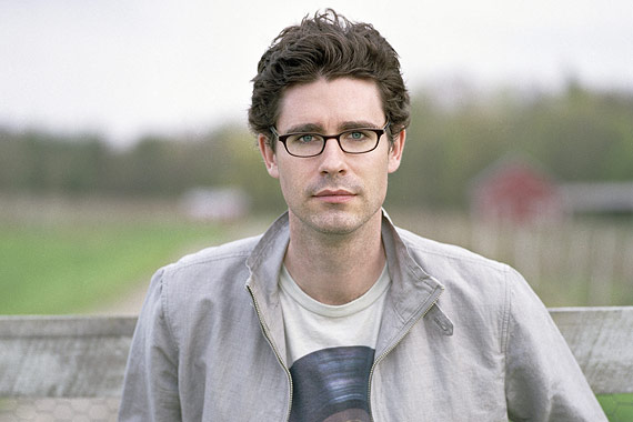 Hot writer number 2: Joshua Ferris. I've seen him in person and it's like looking at the sun. And I'm not so attracted to his writing! (Somewhat due to jealousy!) He's just straight-up cute.