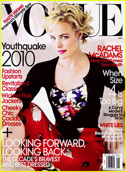 "THIS MONTH IN VOGUE Since I've had a hellacious commute for a little bit, I've allowed myself the luxury of picking up magazines when taking the LIRR. A good test for the healthiness (and quality) of magazines at this point is its simplest: will it entertain me for the duration of my 45 minute ride? The answer, often, is a resounding NO. Even the venerable, full-of-words O Magazine (my favorite by a long shot) is only making it, just barely, to the end. But the January 2010 issue of Vogue? Took me a grand total of 15 minutes at most. It was like a pamphlet and felt like it was as quick of a read as Entertainment Weekly. And Entertainment Weekly takes me 5 minutes. So, let's start: Cover article on Rachel McAdams. It is one full page and one half-page of words. I would guess it's 1500 words at most - mostly filled with paragraphs trying to incorporate Keel's Simple Diary. Since Sally Singer wrote it and not Plum Sykes, it's relatively charming and you get an idea that McAdams is normal and sweet. It's low of quotes or anything implying that they hung out for more than an hour. McAdams has always stayed relatively mysterious, and frankly, I want to know more! Not to hear quotes from Diane Keaton with awkward grammar. There's no entertainment section in this month's Vogue. I would guess that's due to the what's coming in 2010 vs. putting it to bed in October issues, but still. Nothing? Books are released! People can get excited about movie awards! David Mamet on Broadway! There's so much that could be there! There's a fashion spread featuring Carey Mulligan that's horrible. The hairdresser hoboed out her short red pixie into ratty clumps. I think they were going for something that was adorable and Chaplin/hobo esque. It's sheerly hobo, though. The column, that's only about 600 words of look out for this girl, is boring and rote. There's a big fashion spread with Sasha Pivavoria and ""buzz bands,"" who are mostly ""indie"" genre bands on major labels that have been trying to break for the past two years. The Horrors? Really? They don't have the songs, their ""goth"" hair is stupid, and even Ultragrrrl couldn't make them work. I don't find MGMT particularly interesting (when's their Moby moment going to pass? I feel like ""time to pretend"" was as ubiquitous as that Moby album when it came to product placement…), dude from Beirut, whatevs., and stop trying to make ""Chester French"" work. They're not going to work. A high percentage of these bands are just major label signings in the wake of Of Montreal breaking through, as far as I can tell. Other material: a long article on a fancy spa in some abandoned town. Someone trying to make Lara Stone surviving being a size 4 in the fashion world relevant. Good for her…but that still doesn't really make her ""curvy,"" guys. It's insulting to your audience who are not models. And then the best dressed of the decade. And it was boring. You are done! (This is fuel for the fire that I am making the right choice by, essentially, saying goodbye to my magazine dreams.)"