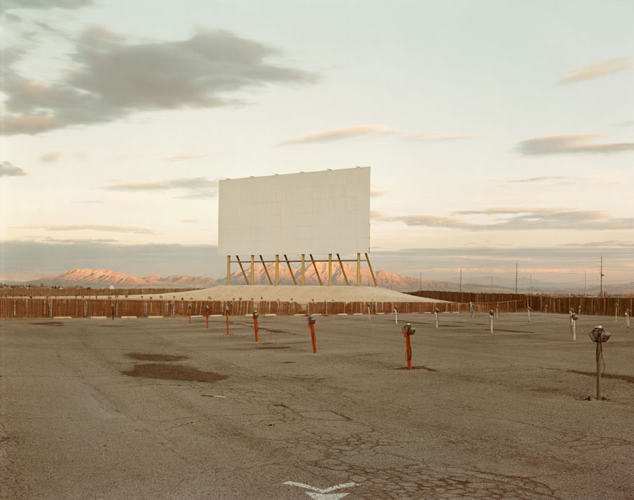 Richard Misrach, Drive-in Theater Las Vegas, 1987
