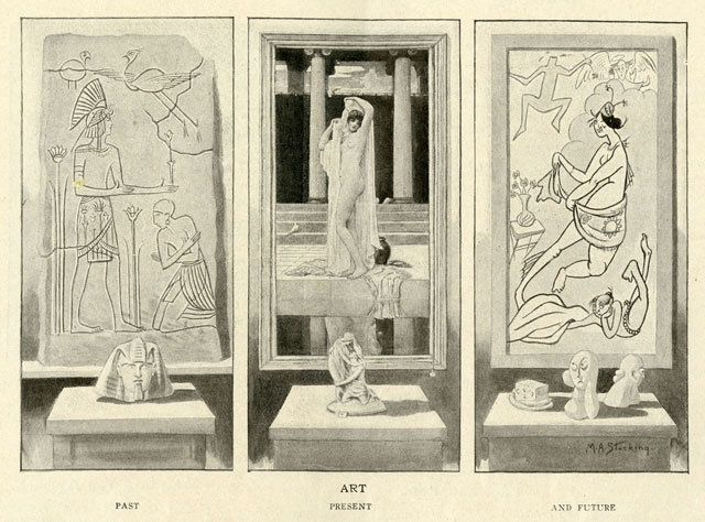 """Art, Past, Present, Future,"" Life, April 24, 1913, 83. (New York Society Library) More vintage reactions to the 1913 Armory show, and Cubism,  over at Hyperallergic ."