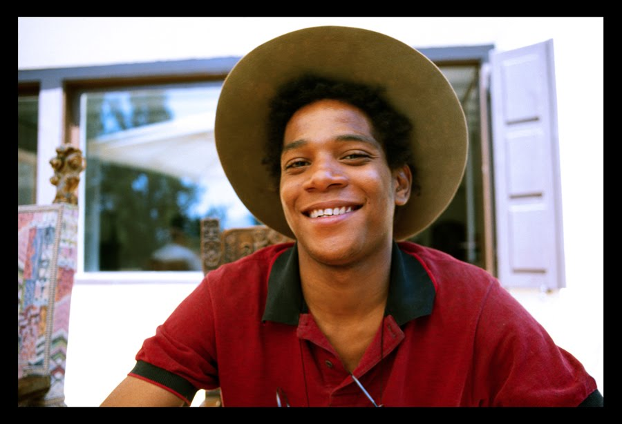 thesnugglefactory :     Jean-Michel Basquiat, born today in 1960        A beautiful man! Once I got fooled, thinking that the photographer for an event was going to be okay, since she had taken a smoking hot photo of Basquiat when she met him in Italy once. Problem was, the photo of Basquiat was the only photo of a person she had in her repertoire. Thus, when she took photos of our event, they were studiously unflattering and just plain off. I call that The Basquiat Snow Job. Don't get fooled!