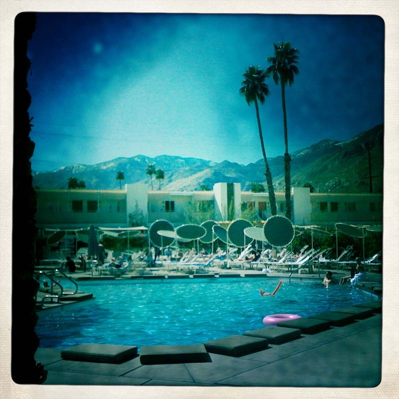 One week, Ace Hotel Palm Springs, you and I have a date. (via   acehotel  )
