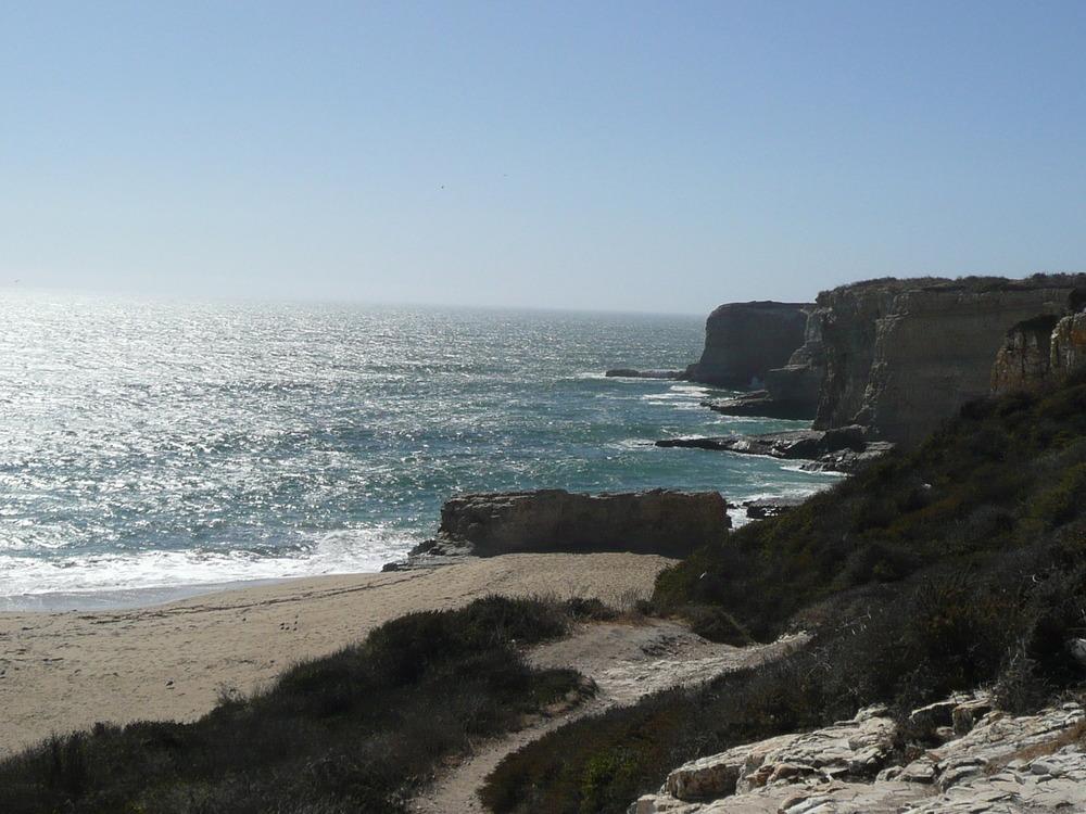 Gorgeous beach in California.