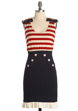 If you were me (I have a big Irish head and have an old timey, 40s look?) would you wear this dress for a special event?
