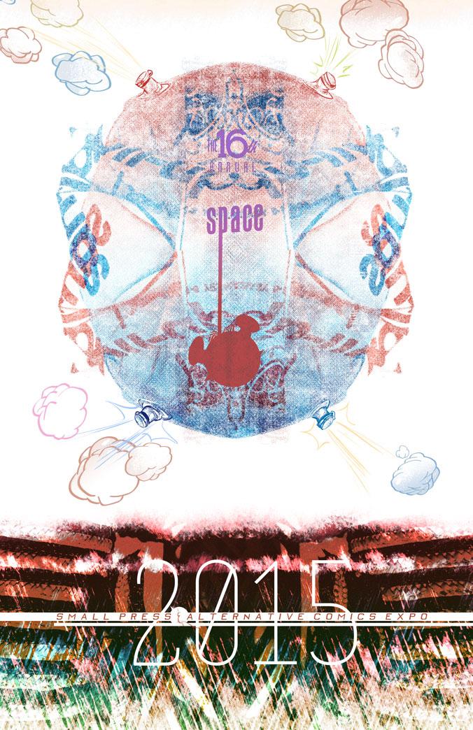 S.P.A.C.E. 2015 program cover