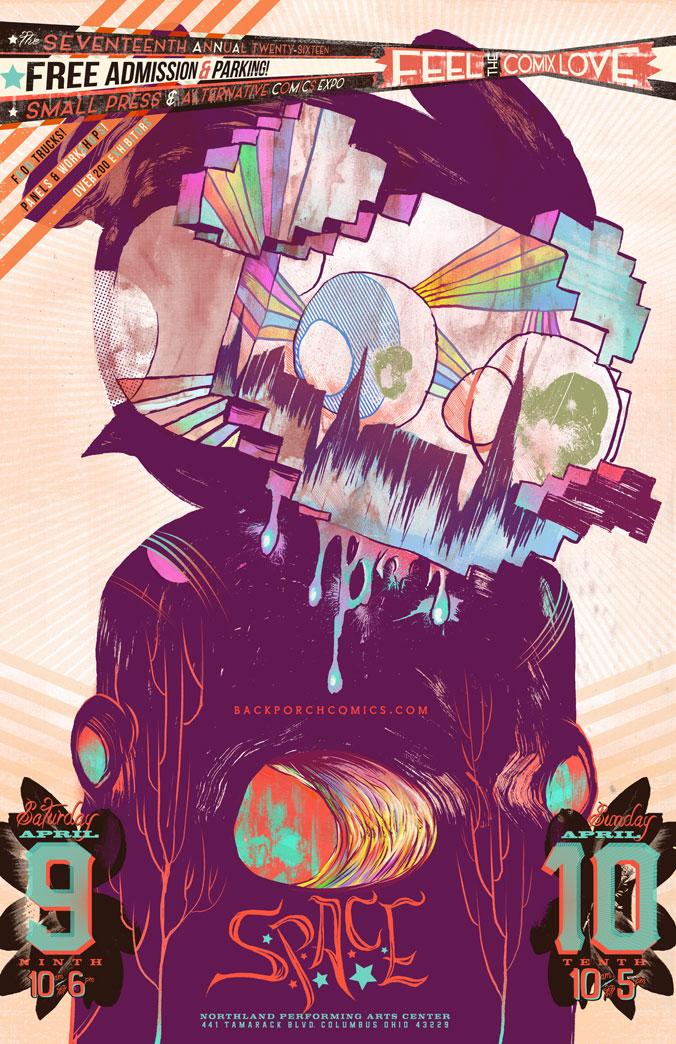 2016 S.P.A.C.E. poster