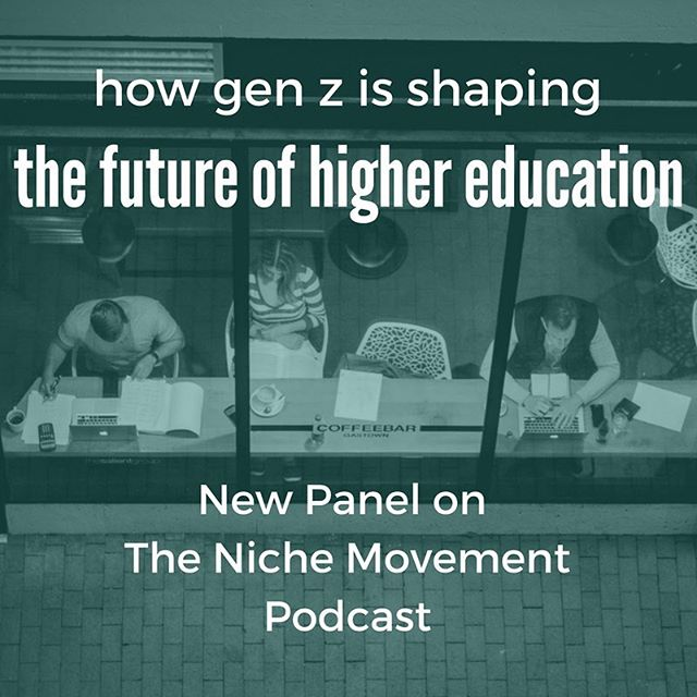 #Millennials are frequently at the top of the list as it relates to the future of #work and #education. However, the generation often not discussed is #GenerationZ, who is on the horizon. In order to understand the future of #highereducation, it is crucial to begin dialogue both about and with the Gen Z group. Our founder, @koco83,was invited as one of 5 #professionals to sit on a panel and offer his perspective of how Gen Z communicates, how they learn, and how we can create environments for them to succeed after #graduation. Link in bio to learn more!