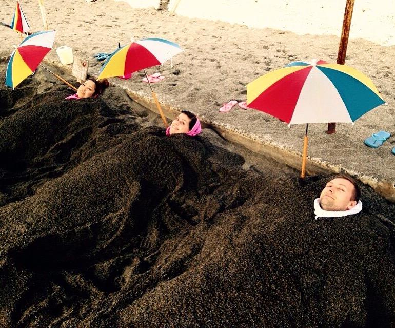 Ibusuki sand baths