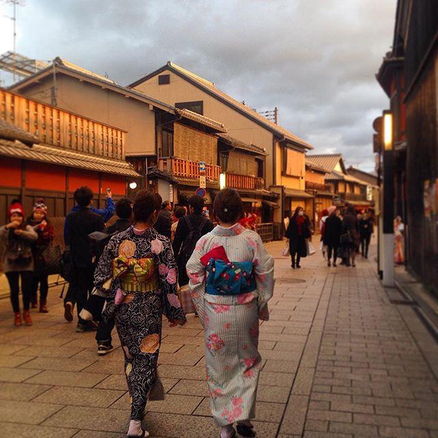 Yukatas in Kyoto