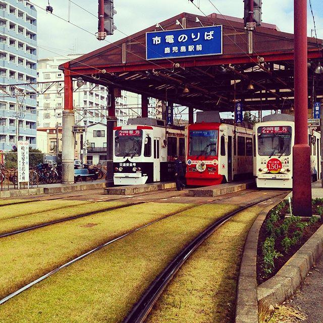 Kagoshima trams