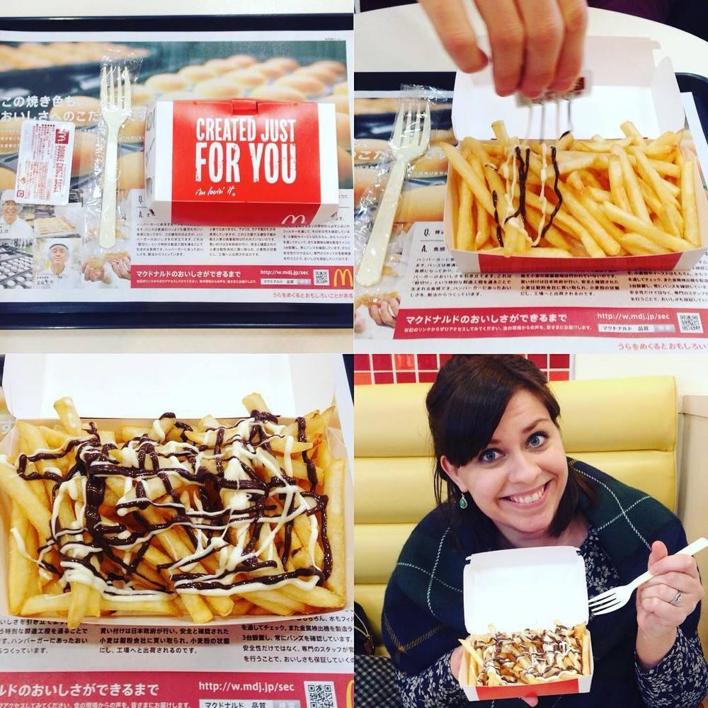 McDonald's chocolate fries