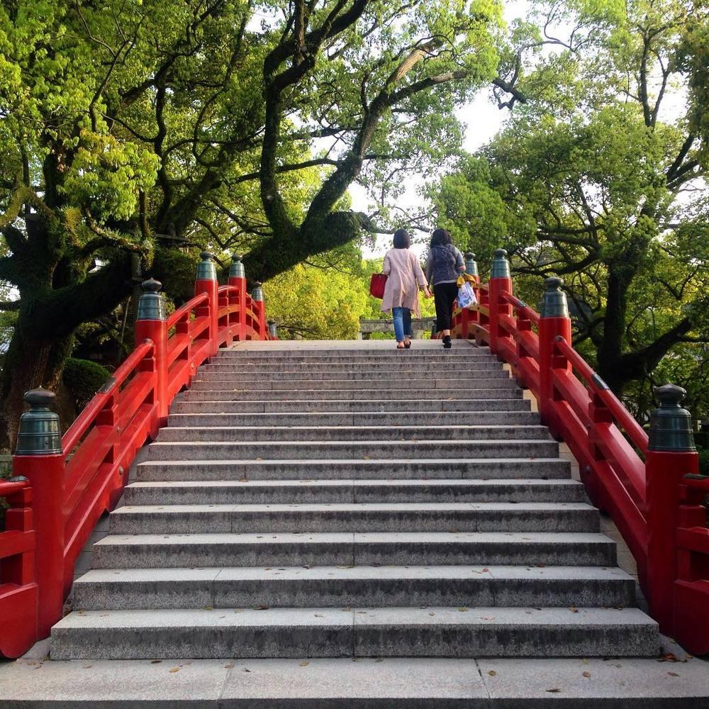 Bridge in Dazaifu