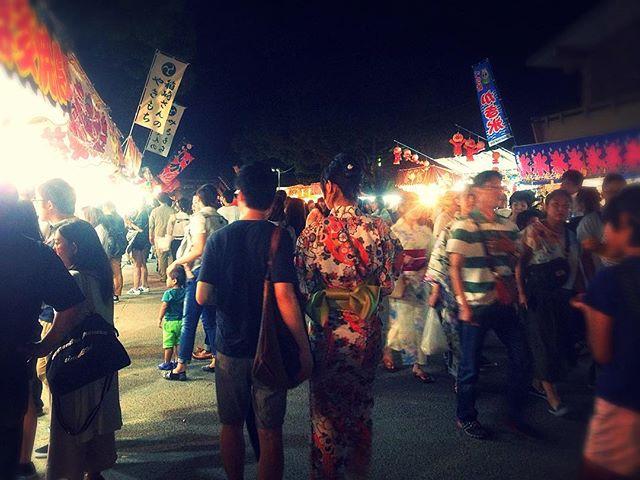 Yukata spotting at Hojoya festival 👘👀 #sopretty #matsuri #fukuoka #japan