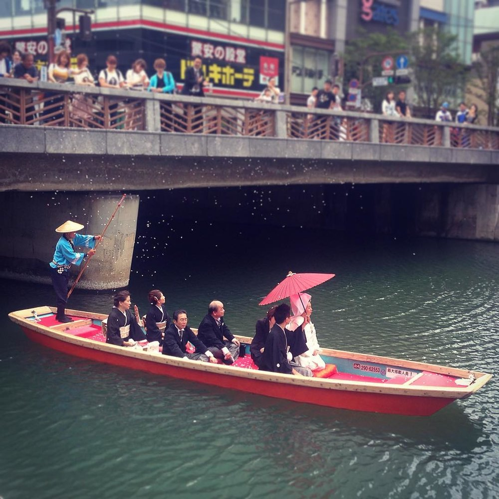 Wedding river cruise