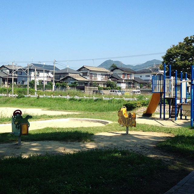 Exploring some rural parks a few weeks ago... 🏡☀️ #Fukuoka #mountainseverywhere #blueskies