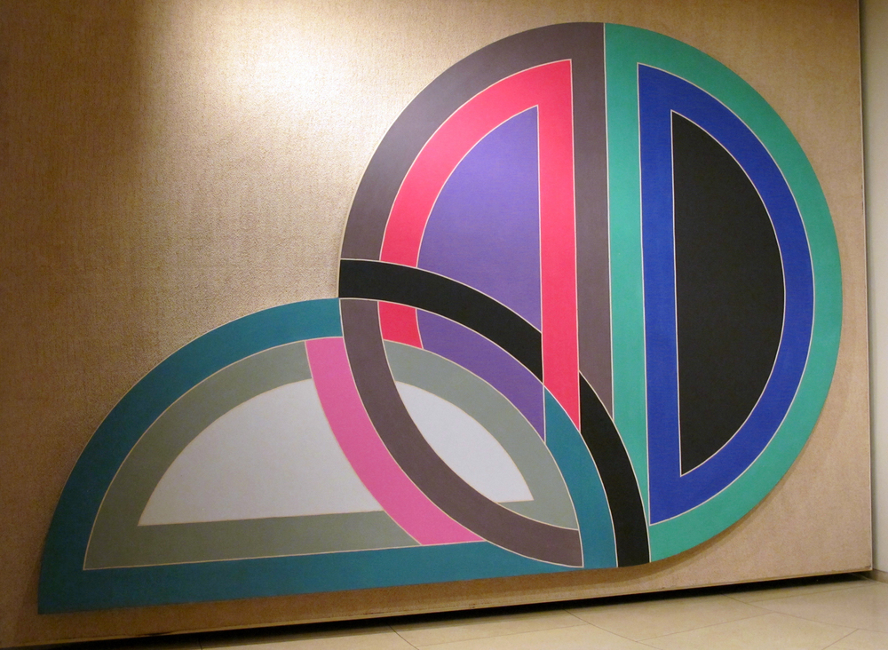 The Painting Gallery: Frank Stella, Darabjerd I, 1967