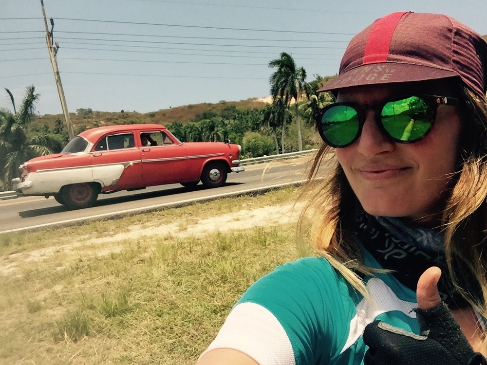 Day one, outside Havana
