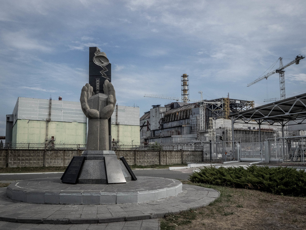 The Chernobyl reactor. Tours to the exclusion zone run regularly from Kiev.