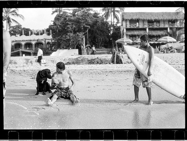 Erick Rodriguez on the humid beaches of Sayulita enjoying the day off. This photograph is printed in Volume 01 Mexico. Now 29.99 and worldwide shipping at no extra charge. www.hermanos.film