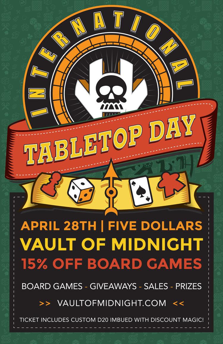 international tabletop day vault of midnight