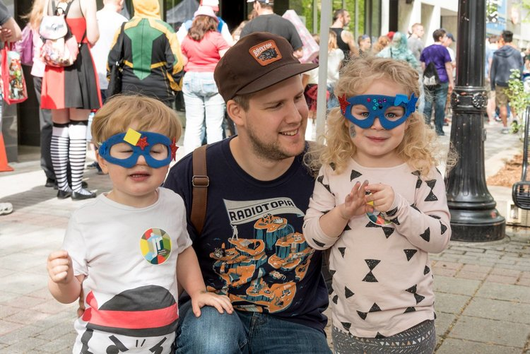 Unleash your inner superhero with arts & crafts hosted by the  Grand Rapids Childrens Museum !