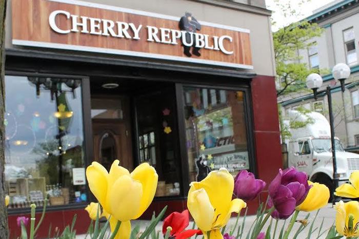 Stop by  Cherry Republic  for games and 10% off your purchase!