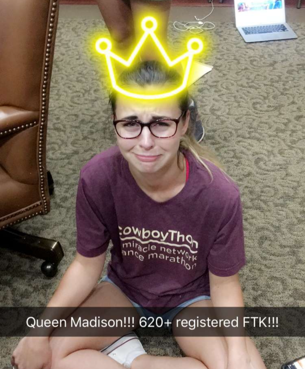 Congratulations to our vice president of membership, Madison, on such a well-planned and well-executed day! We are so proud of you!