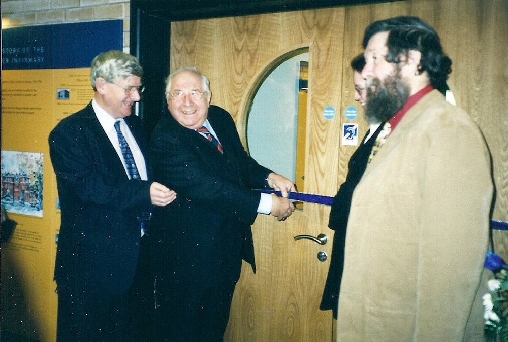 THE MUSEUM'S FORMAL OPENING IN 2003 BY HENRY SANDON MBE