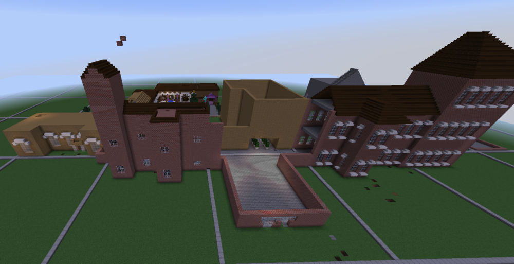Powick Hospital in Minecraft